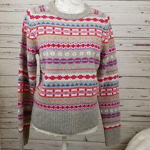 J Crew Wool pullover sweater